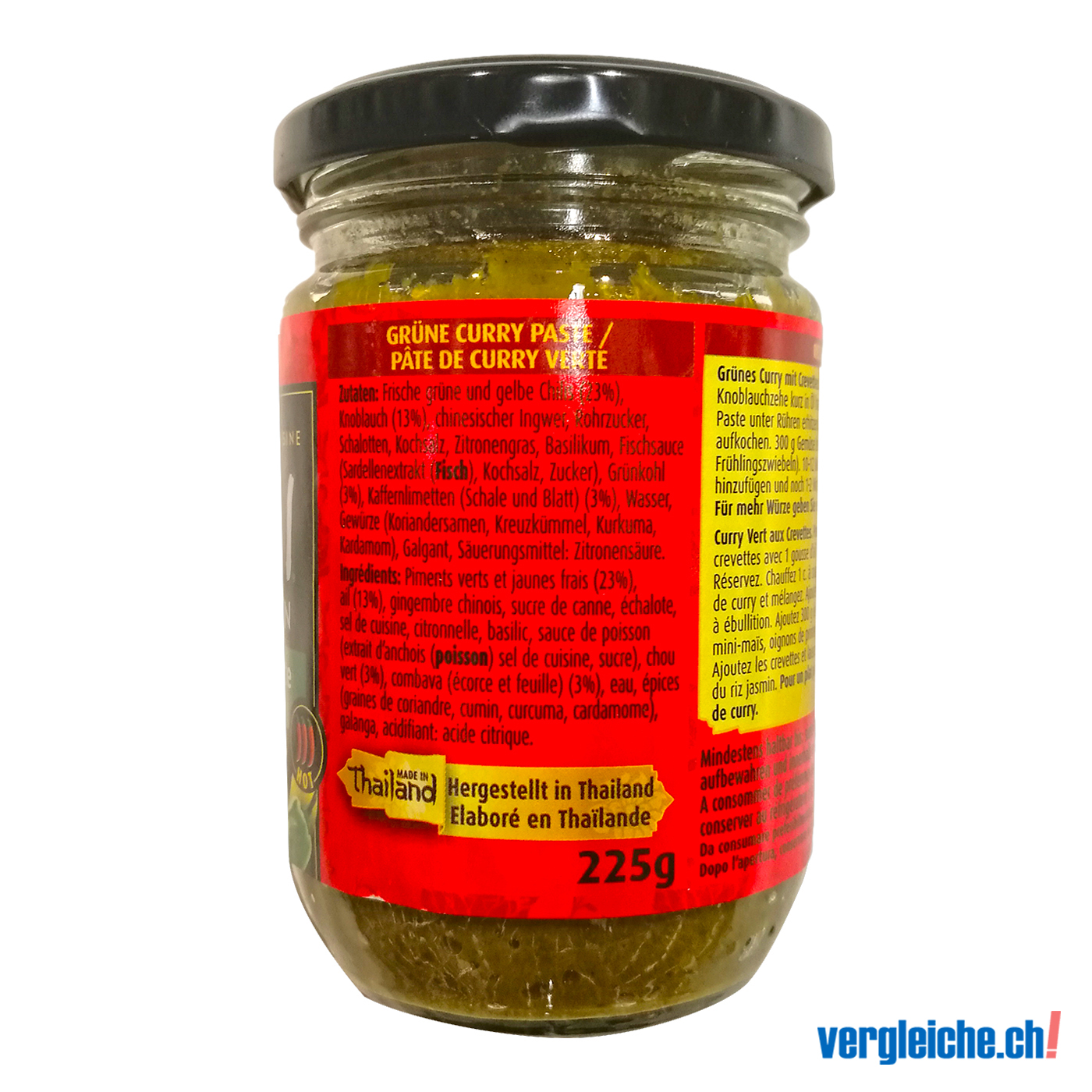 ... Thai Kitchen Green Curry Paste · Green Curry Paste Twitter Facebook  Printer Mail Chf 2 00 100 G ...